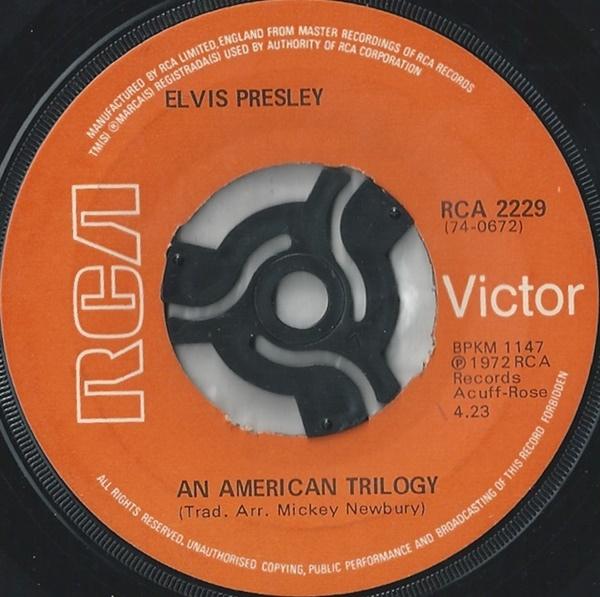 Elvis Presley - An American Trilogy