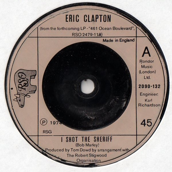 Eric Clapton -  I Shot The Sheriff