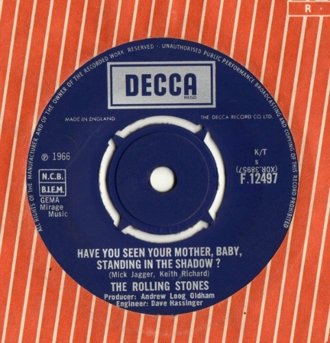 The Rolling Stones - Have You Seen Your Mother, Baby,