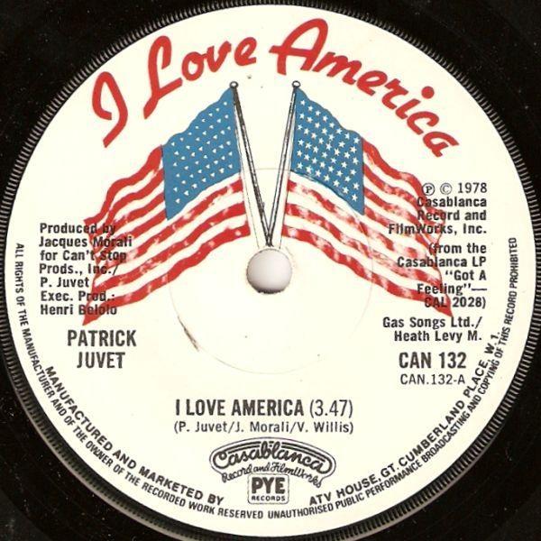 Patrick Juvet - I Love America Album