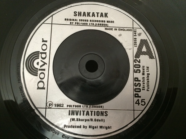 Shakatak - Invitations