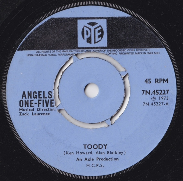 Angels One-Five - Toody Album