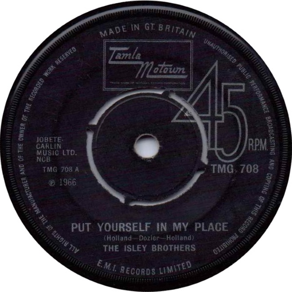 Isley Brothers - Put Yourself In My Place / Little Miss Sweetness
