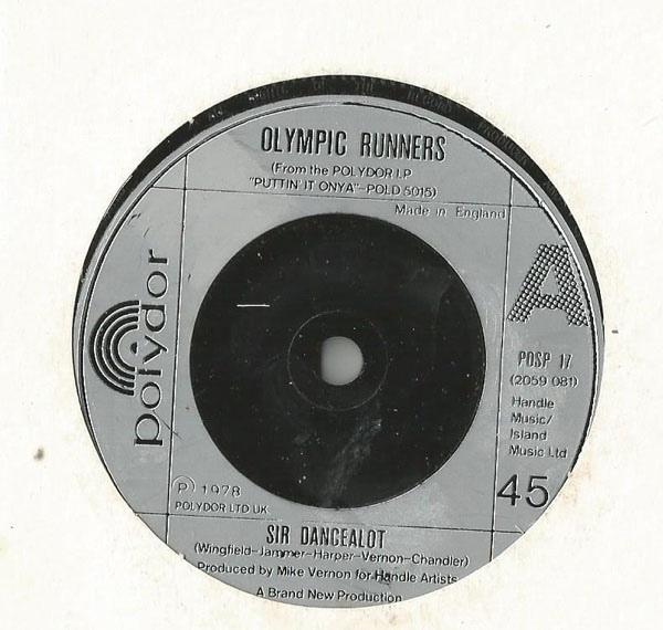 Olympic Runners - Sir Dancealot