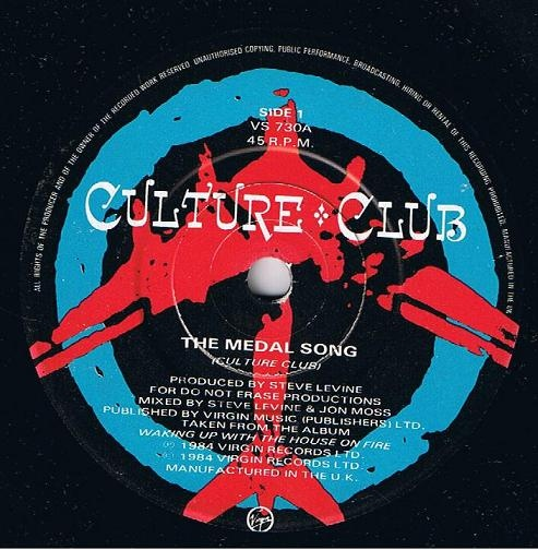 Culture Club - The Medal Song