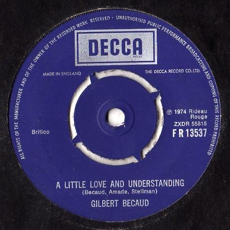 Gilbert Becaud - A Little Love And Understanding