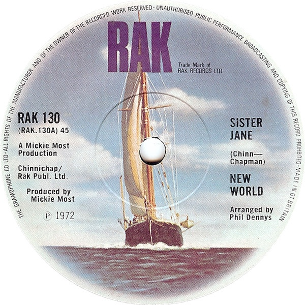 New World - Sister Jane