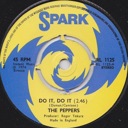 The Peppers - Do It, Do It / Hot Caramel