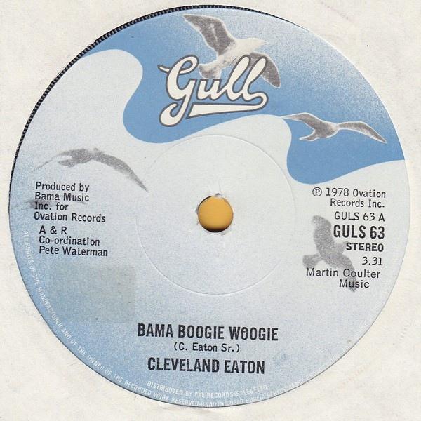 Cleveland Eaton - Bama Boogie Woogie