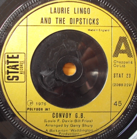 Laurie Lingo And The Dipsticks - Convoy G.B.