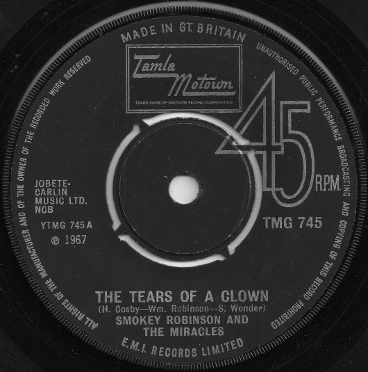 Smokey Robinson And The Miracles - The Tears Of A Clown