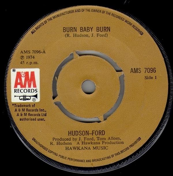Hudson-Ford - Burn Baby Burn