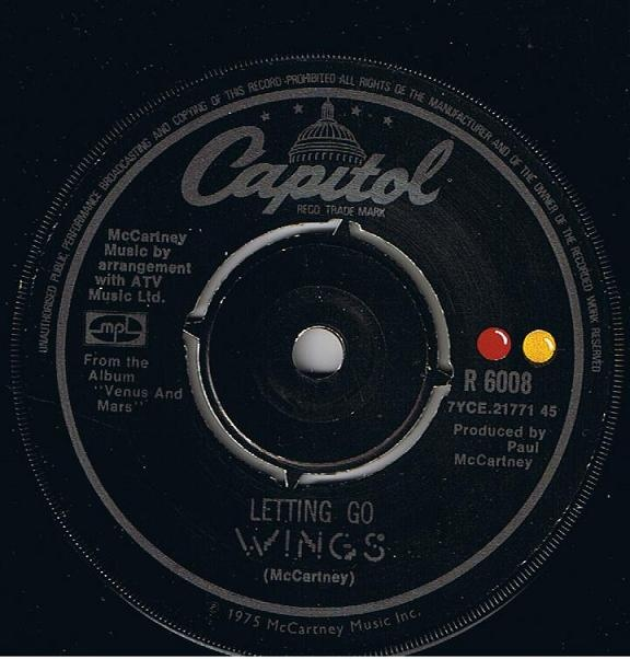 Wings - Letting Go