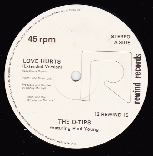 The Q-Tips Featuring Paul Young ? - Love Hurts