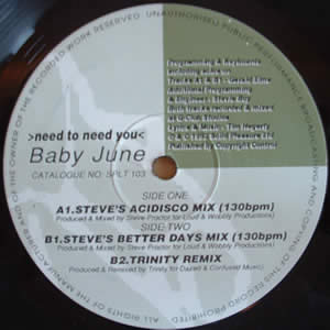 BABY JUNE - NEED TO NEED YOU