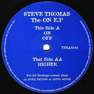STEVE THOMAS - THE ON EP