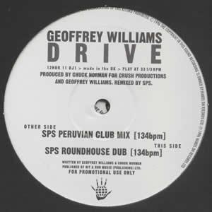 GEOFFREY WILLIAMS - DRIVE (DOUBLE)