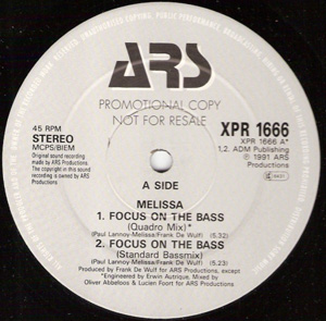 Melissa - Focus On The Bass
