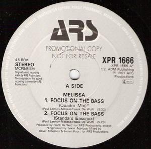 Melissa - Focus On The Bass