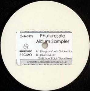 Various - Phuturesole Album Sampler