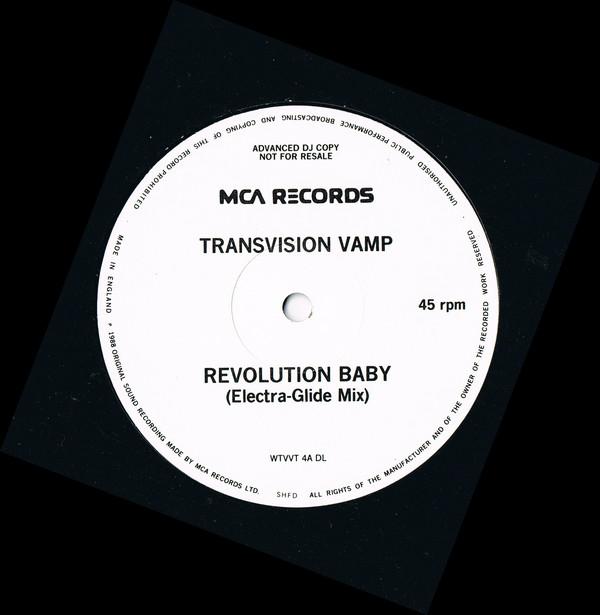 Transvision Vamp - Revolution Baby (Electra-Glide Mix) (Promo)