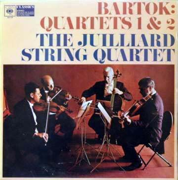 Bartok - The Juilliard String Quartet - String Quartets Nos. 1 & 2