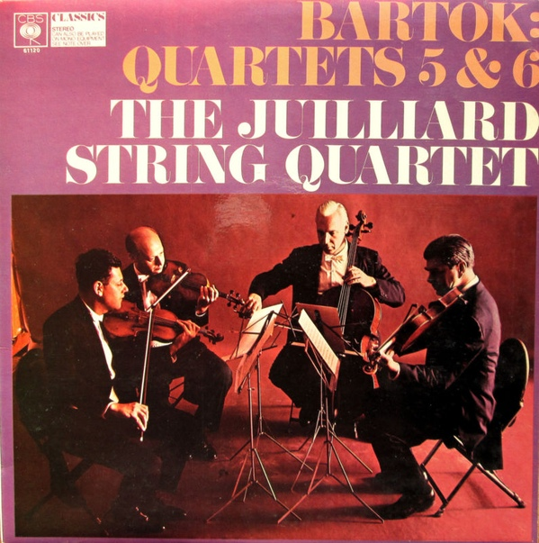 B?la Bart?k, The Juilliard String Quartet - String Quartets Nos. 5 & 6
