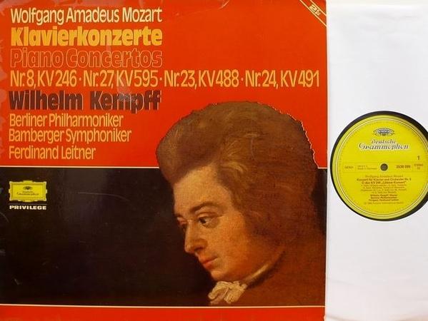 Mozart - Wilhelm Kempff / Berliner Philharmoniker - Klavierkonzerte Nr. 8 C-Dur, Nr. 27 B-Dur, Nr.23