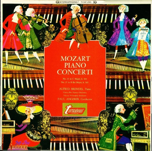Mozart, Alfred Brendel, Paul Angerer - Piano Concerti
