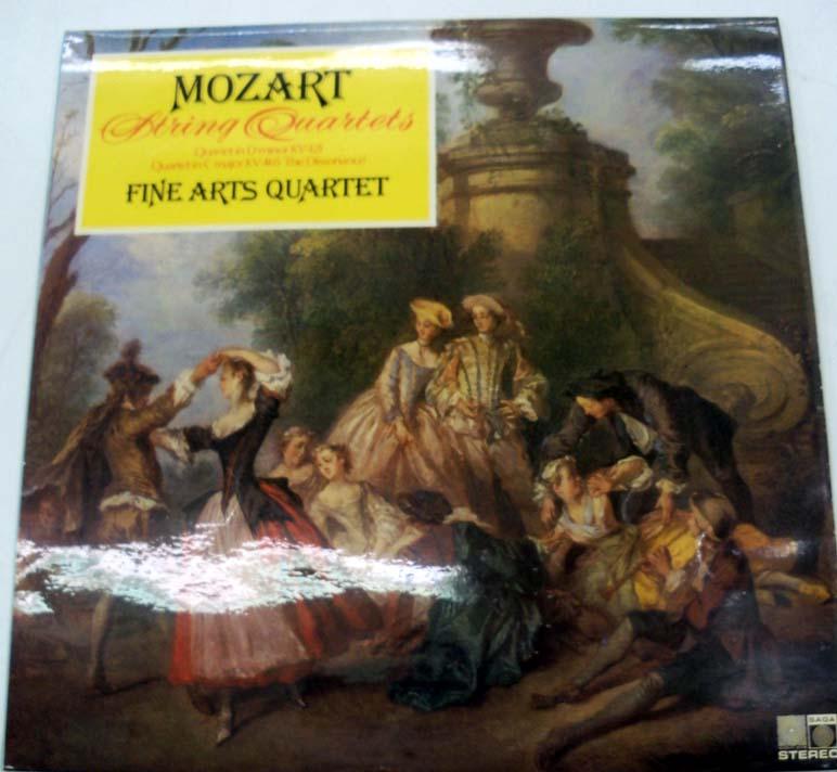 Mozart - The Fine Arts Quartet - Mozart String Quartets K421 & K465