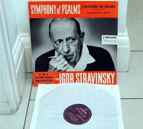 STRAVINSKY - CBS SYMPHONY ORCH - SYMPHONY OF PSALMS