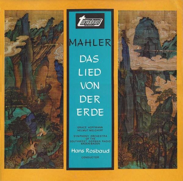 Mahler, Grace Hoffman, Helmut Melcher - Das Lied Von Der Erde