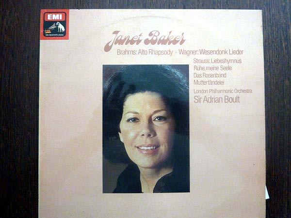 Brahms, Wagner - Janet Baker, LPO, Adrian Boult ? - Liebeshymnus - Ruhe, Meine Seele - Das Rosenband