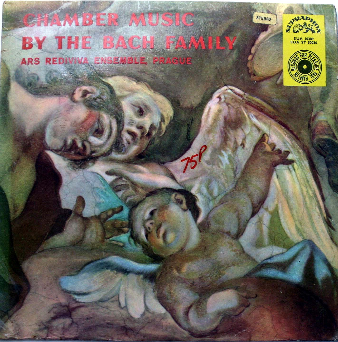 Bach,  Ars Rediviva En - CHAMBER MUSIC BY THE BACH FAMILY