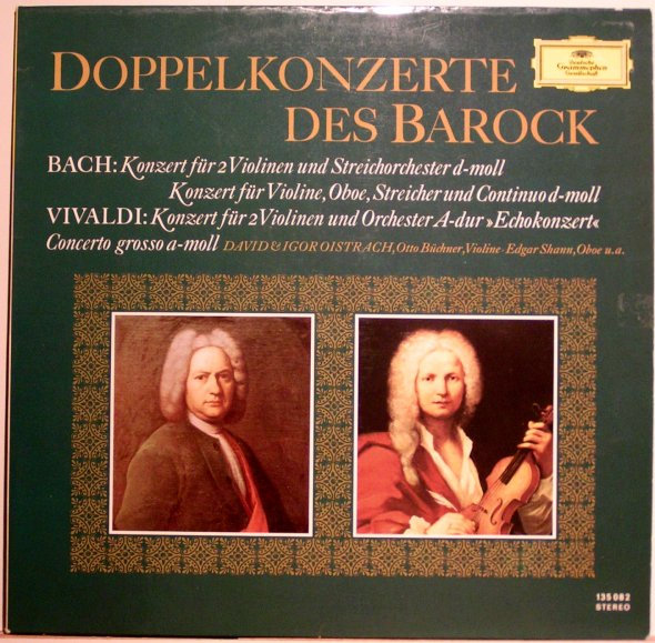 Bach / Vivaldi - Doppelkonzerte Des Barock