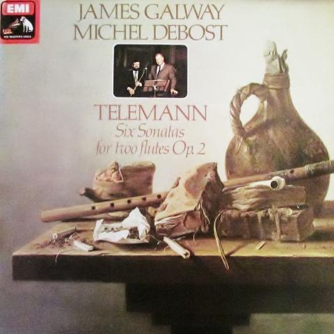 Telemann - James Galway / Michel Debost -  Six Sonatas For Two Flutes Op. 2