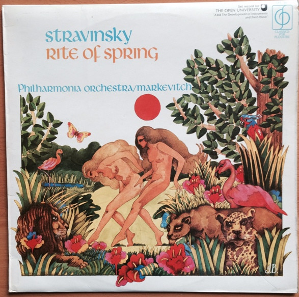 Stravinsky, Philharmonia Orchestra, Markevitch - Rite Of Spring
