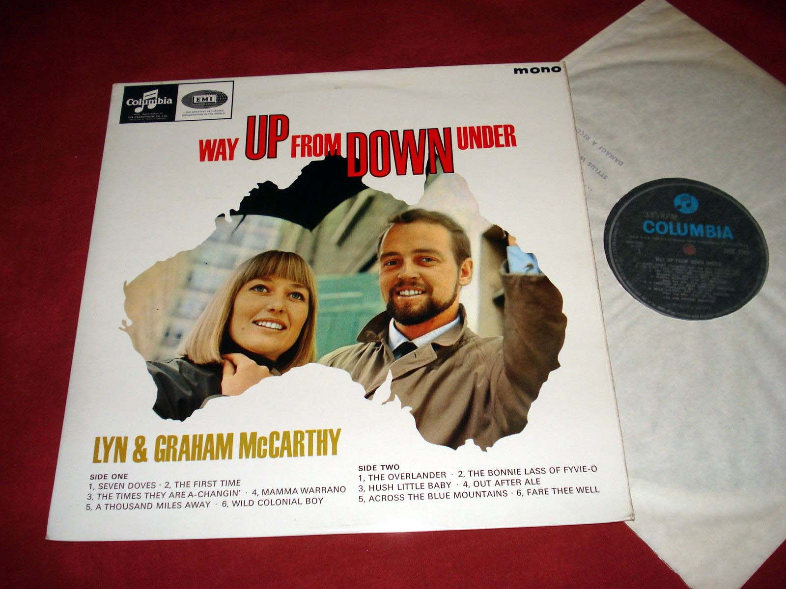 LYN & GRAHAM McCARTHY - Way up from down under