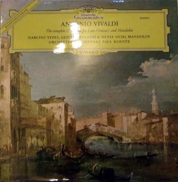 Antonio Vivaldi, Narciso Yepes, Takashi - Complete Concerto For Lute (Guitar) And Violin