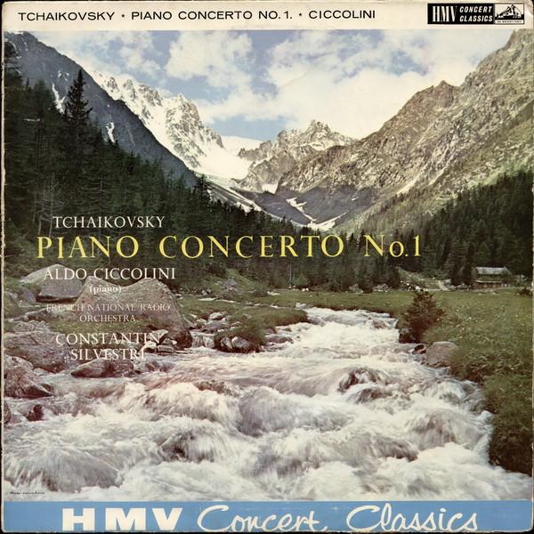 Tchaikovsky Aldo Ciccolini,  Constantin Silvestri -  Piano Concerto No. 1