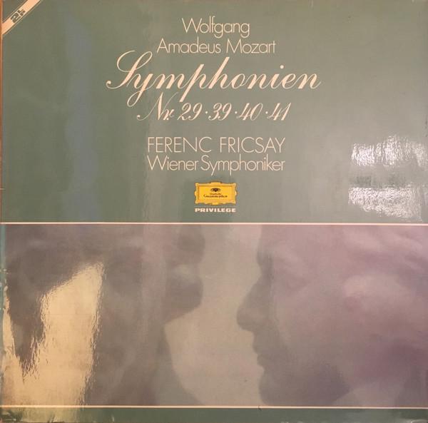 Mozart, Ferenc Fricsay, Wiener Symphoniker - Symphonien Nr. 29-39-40-41