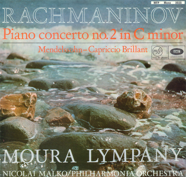 Rachmaninov  - Lympany  Malko Phil. Orch. - Rachmaninov Piano Concerto No. 2 In C Minor