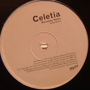 CELETIA - RUNAWAY SKIES