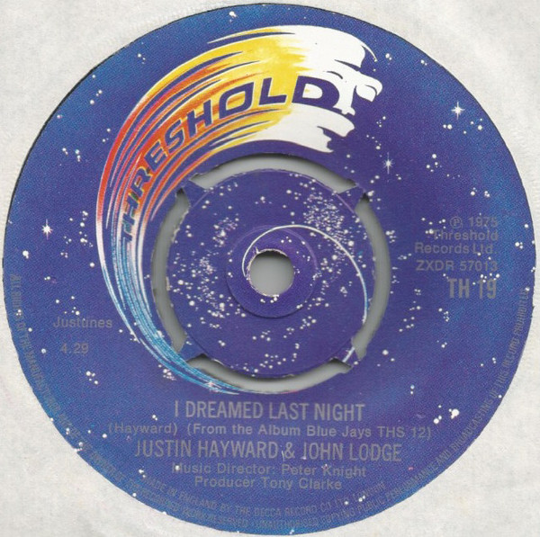 Justin Hayward & John Lodge - I Dreamed Last Night