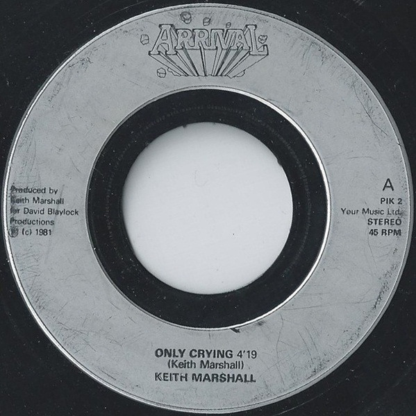 Keith Marshall - Only Crying