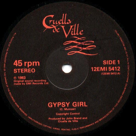 Cruella De Ville - Gypsy Girl
