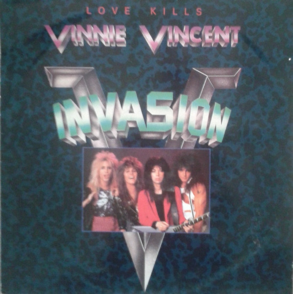 Vinnie Vincent Invasion Records Lps Vinyl And Cds