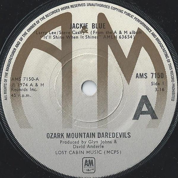 Ozark Mountain Daredevils - Jackie Blue