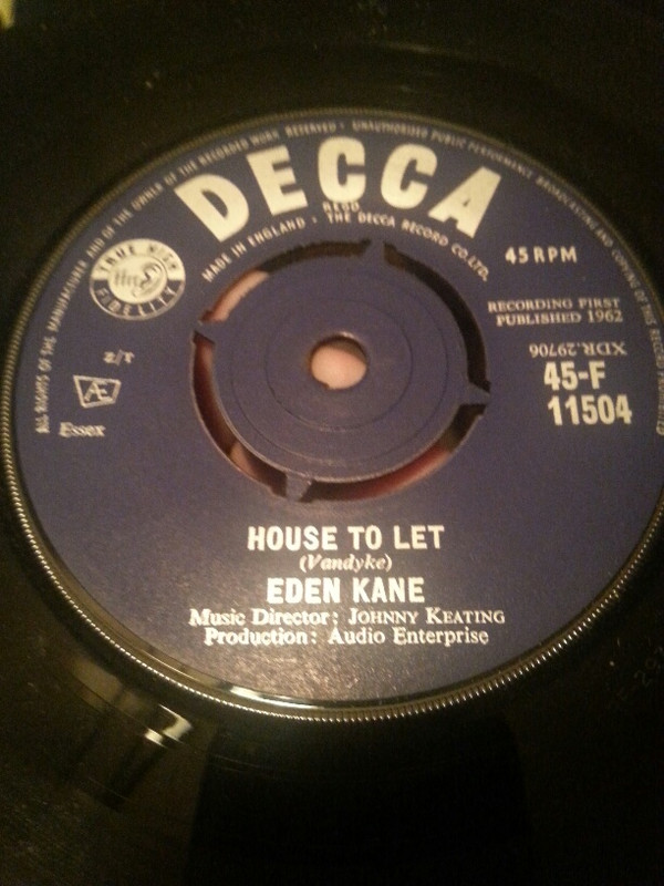 Eden Kane - House To Let