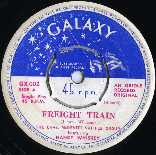 The Chas. McDevitt Skiffle Group - Freight Train / The Cotton Song